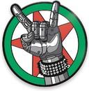 Cyberpunk 2077 Johnny Silverhand Logo 2 Inch Enamel Magnet