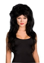 Dreamgirl Sexy Black Rocker Costume Wig One Size
