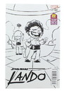 Diamond Select Star Wars Lando #1 Comic Young Black & White Variant Cover SDCC 2015 Exclusive