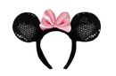 Elope Disney Deluxe Sequined Velvet Minnie Ears Costume Headband One Size