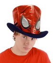 Elope Spider-Man Costume Top Hat Adult One Size