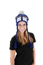 Elope Dr. Who Tardis Laplander Hat Officially Licensed One Size