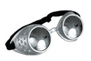 Atomic Ray Adult Costume Goggle Silver