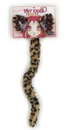Elope Cheetah Ears and Tail Kid and Adult Costume Kit Unisize