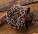 Elope Steampunk Antique Copper Costume Jewelry Cuff Adult One Size