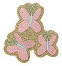My Little Pony Fluttershy Glitter Costume Patch Unisize