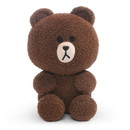 Enesco Line Friends Brown 7 Inch Seated Plush