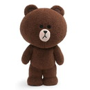 Enesco Line Friends Brown 14 Inch Standing Plush