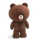 Enesco Line Friends Brown 23 Inch Jumbo Standing Plush