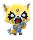 Enesco Aggretsuko Rage Face 12 Inch Collectible Plush with Sound
