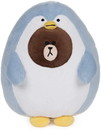 Gund ENS-6056159-C Line Friends Brown the Penguin Bear 12 Inch Plush