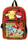Fashion Accessory Bazaar FAB-480-C Pokemon Team Pokemon Red 16 Inch Backpack