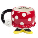 Fashion Accessory Bazaar FAB-73056-C Disney Minnie Mouse Red Rock the Dots Molded Mug with Arm
