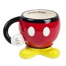 Fashion Accessory Bazaar FAB-73057-C Disney Mickey Mouse Red Molded Mug with Arm