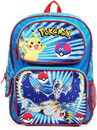 Fashion Accessory Bazaar FAB-85615-C Pokemon Character Group Blue 16 Inch Backpack
