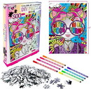 Fashion Angels FAE-12719-C Fashion Angels See The Good Coloring Puzzle