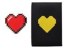 Fourth Castle Legend of Zelda 8-Bit Heart Paperweight