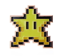Fourth Castle Super Mario Bros Game 8-Bit Invincible Star Paperweight| Collector's Edition