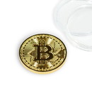 Fourth Castle Bitcoin Collectible|Gold Plated Commemorative Blockchain Coin| Collector's Coin