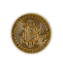 Fourth Castle Media FCM-1344-C Bitcoin Bronze Plated Commemorative Collector's Coin