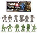 Fourth Castle Micromedia FCM-1425-C Fallout Nanoforce Series 1 Army Builder Figure Collection - Bagged Version 3