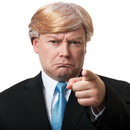Franco Trump Billionaire Adult Costume Wig
