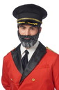 Franco FCO-23112-C Captain Obvious Moustache and Beard Adult Costume Accessory Set
