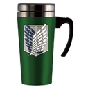 Funky People Attack On Titan Scout Logo Travel Mug