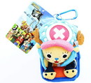 Funimation One Piece Plush Phone Case Chopper (Kyun Version, Open Mouth)