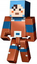 Fisher-Price FPC-1102256131-C Minecraft Dungeons Large 11 Inch Articulated Action Figure, Hex