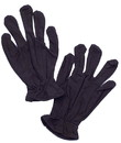Adult Costume Black Theatrical Gloves