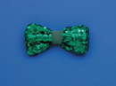 Forum Novelties St. Patrick's Green Sequin Costume Bow Tie One Size