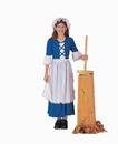 Forum Novelties Colonial Girl Costume Child