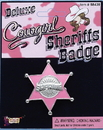 Forum Novelties Cowgirl Sheriff Costume Badge