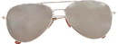 Forum Novelties Police Mirrored Costume Sunglasses