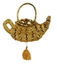 Forum Novelties Genie Lamp Jasmine Costume Handbag Sequin Purse