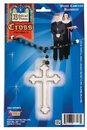 Forum Novelties White Cross Nun Priest Monk Costume Necklace Accessory