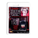 Forum Novelties Vampire Costume Fangs With Blood