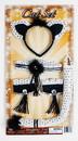 Forum Novelties Cat Adult Costume Set - Headpiece, Tail, Collar, & Cuffs