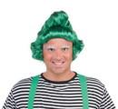 Forum Novelties Green Christmas Oompa Elf Costume Wig Adult One Size
