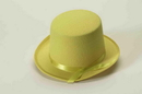 Forum Novelties Yellow Felt Adult Costume Top Hat One Size