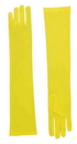 Forum Novelties Long Yellow Adult Female Costume Nylon Dress Gloves One Size