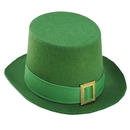 Forum Novelties St. Patrick's Green Costume Top Hat w/Buckle Adult One Size