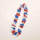 Forum Novelties Patriotic Red, White, And Blue Costume Flower Lei One Size Fits Most