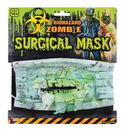 Forum Novelties Biohazard Zombie Costume Surgical Mask With Teeth One Size