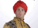 Forum Novelties Sultan's Deluxe Red Adult Costume Turban One Size Fits Most