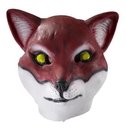 Forum Novelties Deluxe Latex Animal Mask Adult: Red Fox One Size