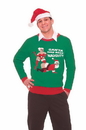 Forum Novelties Ugly Christmas Naughty Santa Adult Sweater