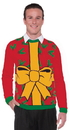 Forum Novelties Ugly Christmas Gift Adult Sweater