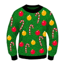 Forum Novelties Ugly Christmas Ornament Adult Sweater
